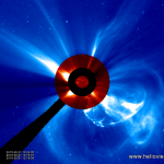 Huge Super Solar Blast and Sun Diving Comet VIDEO