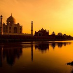 Taj Mahal's Garden is Celestial Aligned with the Solstices