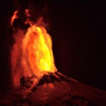 Volcano in Chile Violently Erupts VIDEO