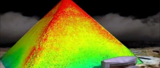 Strange Heat Annomaly Found in the Pyramids