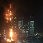 Huge Luxury Hotel on Fire in Dubai Amid New Year's Celebrations VIDEO