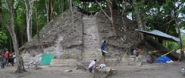 Rare Egyptian Style Tomb Found in Belize
