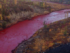 russian river turns red